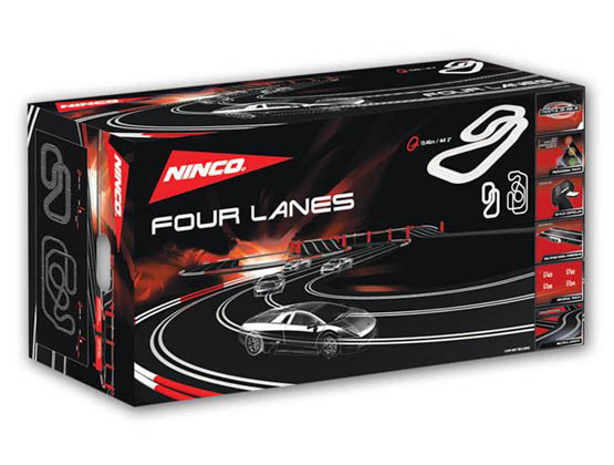 Ninco 20151 Set Pista Four Lanes