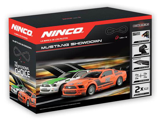 Ninco 20154 Pista Elettrica Mustang Showdown