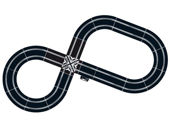 Scalextric C1263 Pista Elettrica Extreme Speed - Circuito