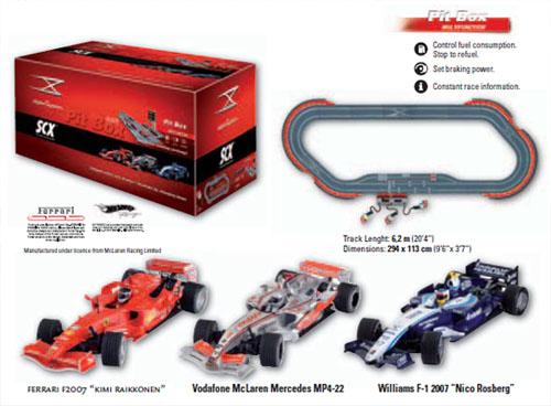 SCX 10050 Set Pista Digitale Pit Stop Formula 1