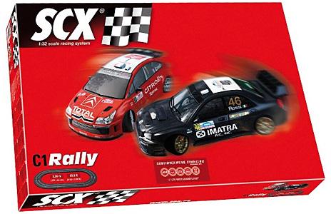 SCX 81000 Set Pista Rally