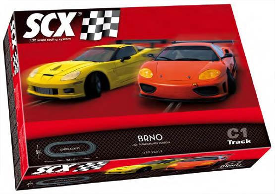 SCX 81320 Set Pista GT Brno