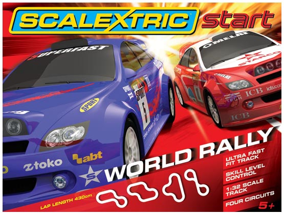 Scalextric C1249 World Rally