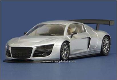Audi R8 Test Car Argento NSR 1087 AW