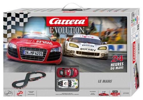 Carrera 25180 Pista Elettrica Le Mans