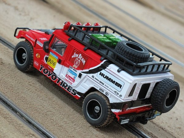 jeep per pista elettrica raid